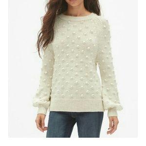 Sweaters - gap women popcorn knitted sweater small